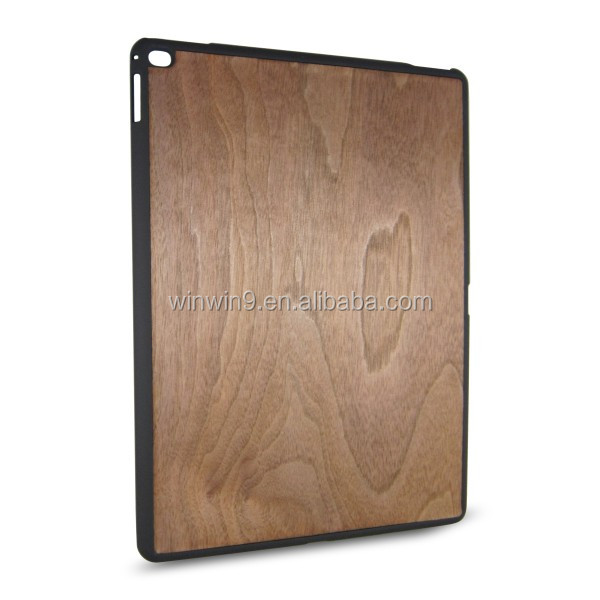 Natural Bamboo Walnut Wood Case for iPad Custom Design Packaging Mobile Phone Accessories