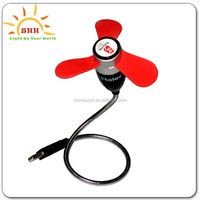 Factory supply Programmable led usb fan with text,usb heater fan