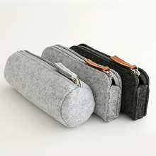 customized China Wallet Fashion Felt Pencil Pouch /case For Student Office