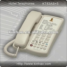 KT83 hotel guest room telephone with speed dial