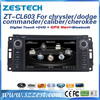 ZESTECH car dvd radio for chrysler/jeep dodge/commander/caliber/ grand cherokee 2014 with gps navigation