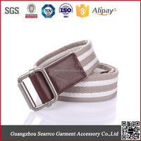 Men's ribbed webbing belt