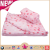 Reasonable price 30x30 Inch Pink Lovely Assorted Colors soft Plush Fleece fabric Girls Newborn Baby Dot Polka Blankets as gifts