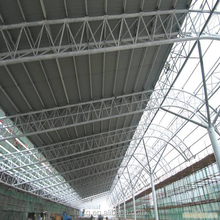 steel space truss structure space frame tube
