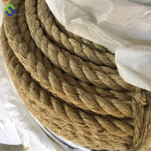 8mm Sisal Rope 3 Strand Twisted Natural Sisal Rope Untreated