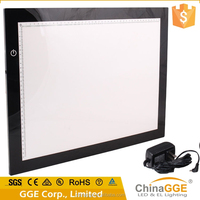 12V LED A3 acrylic drawing board for art graphics tablet