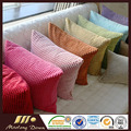 2016 New Polyester Corduroy Cushion Cover / Feather Back Cushion