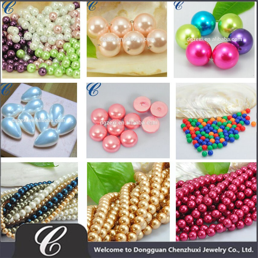 Dongguan synthetic pearl supplier