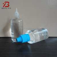 50ml safe soft PET e cigarette liquid dropper bottle