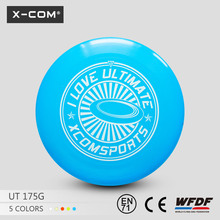 "X-COM Customed Printing PE plastic 10.7""(273mm) 175g promotional ultimate frisbee"
