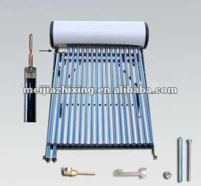 Vacuum Tube Solar Hot Water Heater/Collector with Heat Pipe Technology