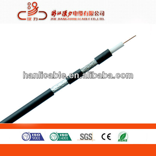 Hanli cable digital CATV system RG6 coaxial cable