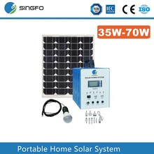 SFPS038 Portable off grid solar panel system 100W 200W 150W Home Solar system