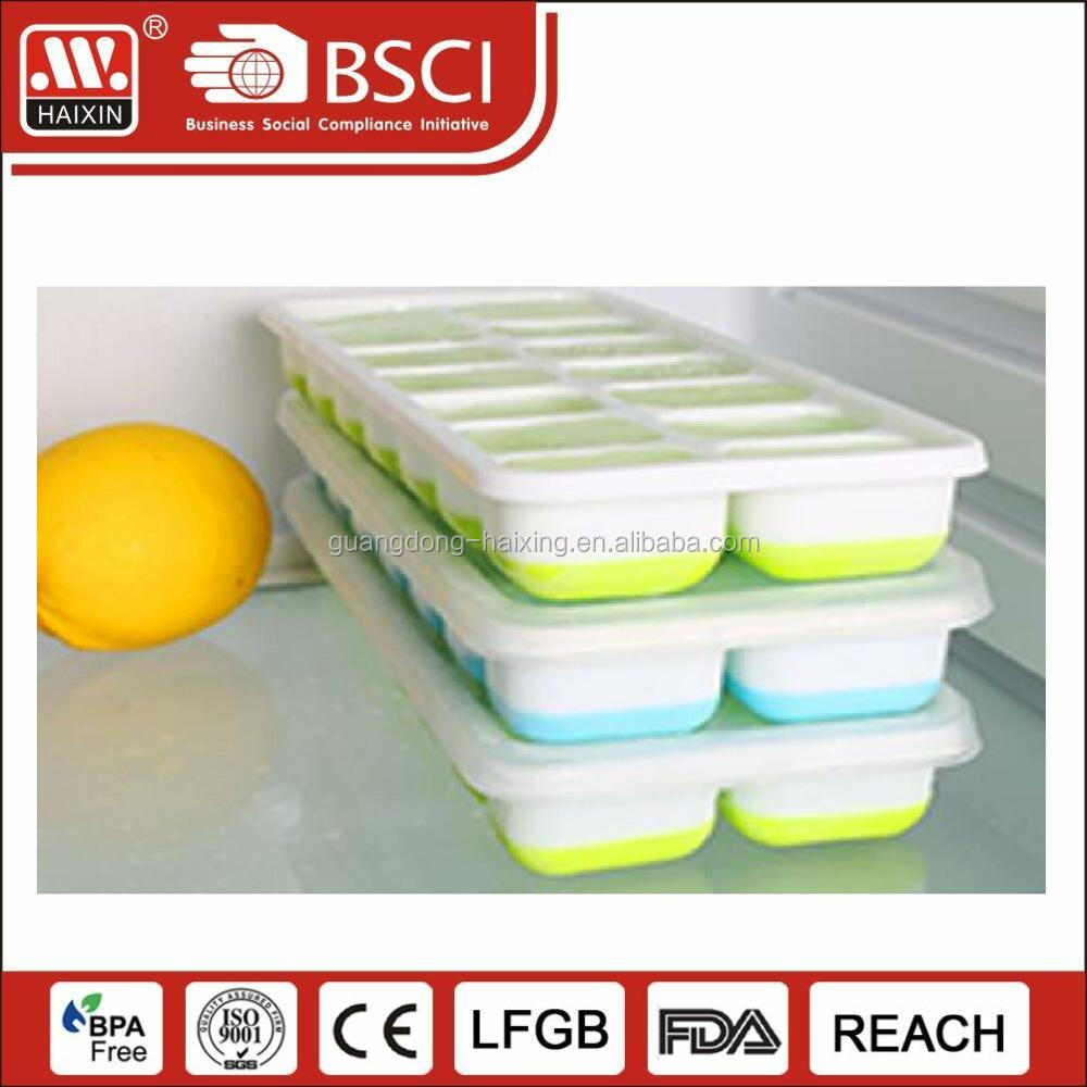 Clear plastic food containers disposable plastic salad container salad bowl with lid