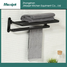Good price black family bathroom towel rack from Guangdong