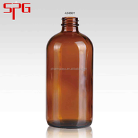 Chinese products wholesale 16oz amber glass essential oil bottle