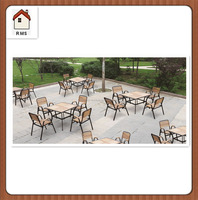 Bulk outdoor furniture used outdoor restaurant furniture C-602+T-801