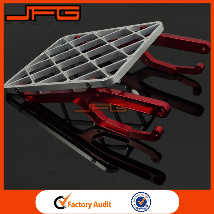For Honda CRF450X Billet CNC Rear Luggage Carrier Rack Motocross Enduro Dirt Bike Motorcycle Parts
