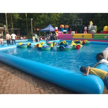 Hot selling kids inflatable play pool for rental