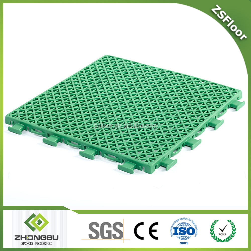 Double Layers Interlocking Flooring Product Description