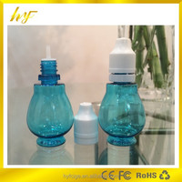 10ml PET plastic e liquid blue bottle gourd new design with child &tamper evident proof cap