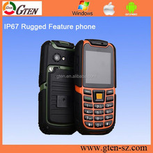 Original IP67 support Russian keyboard mobile phone S6 2500mAh Battery Long Standby Loud Sound Shockproof
