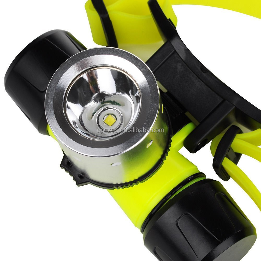 COB 3W Waterproof led headlamp with bright led lamp use for outdoor activities