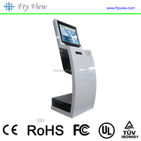 self service payment kiosk with ATM ,bill,printing photo booth,card reader,ticket vending machine