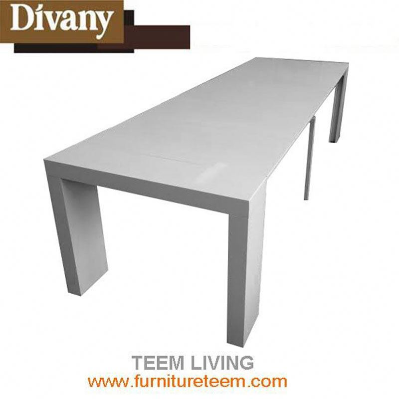 solid oak dining table extendable dining table stainless steel folding table