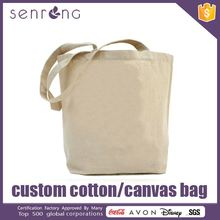 100% Organic Cotton Shopping Bag Eco Choice Cotton Canvas Tote Bag
