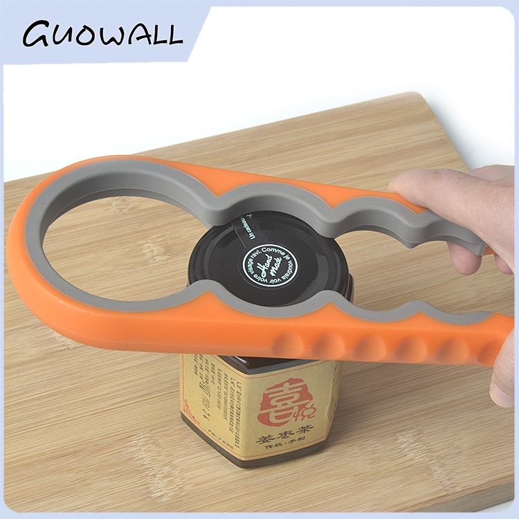 4 in 1 Creative Plastic Mulitifunctional Jar Opener/ Can Opener/Bottle Opener (T-0095)