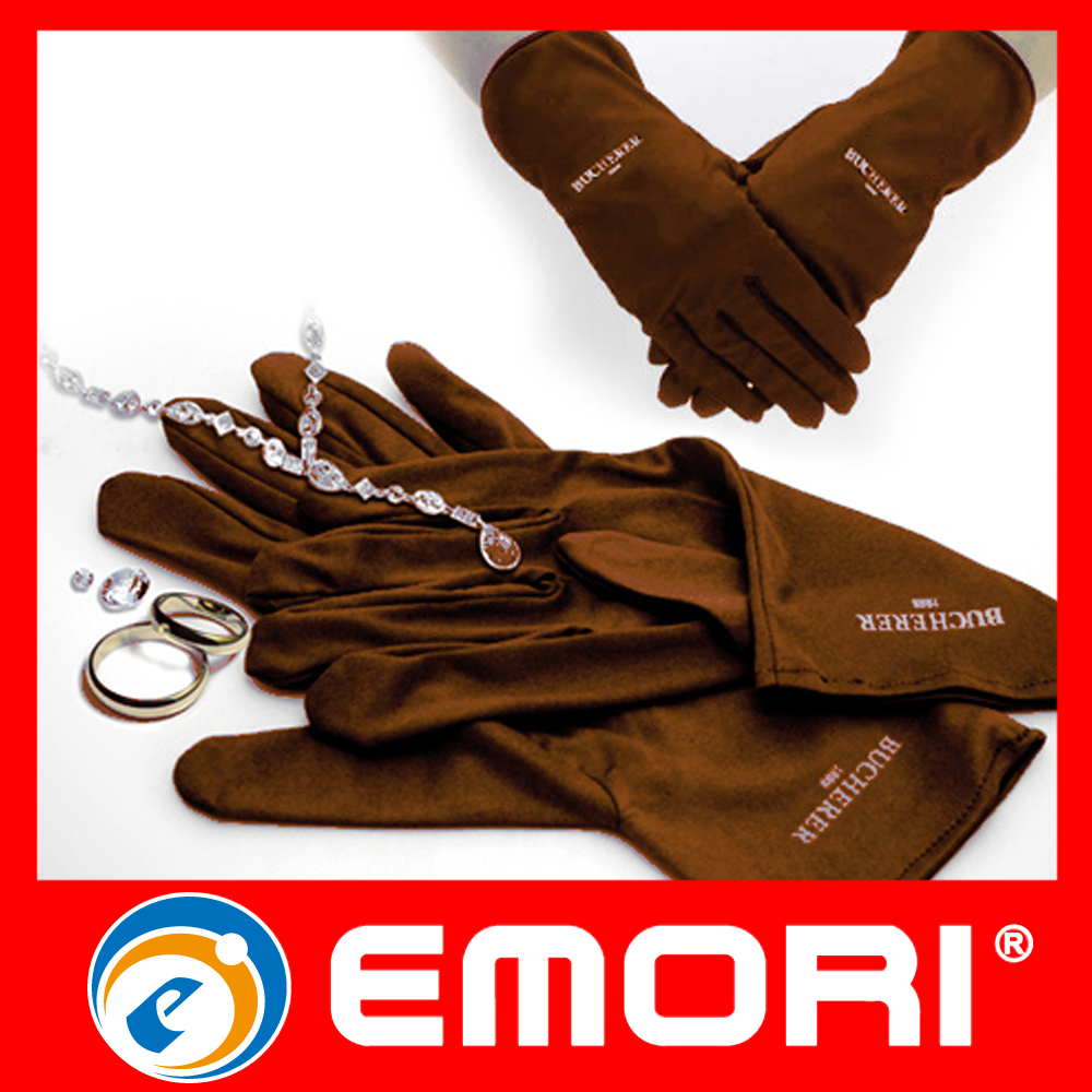 wholesale multifunction microfiber jewellery gloves