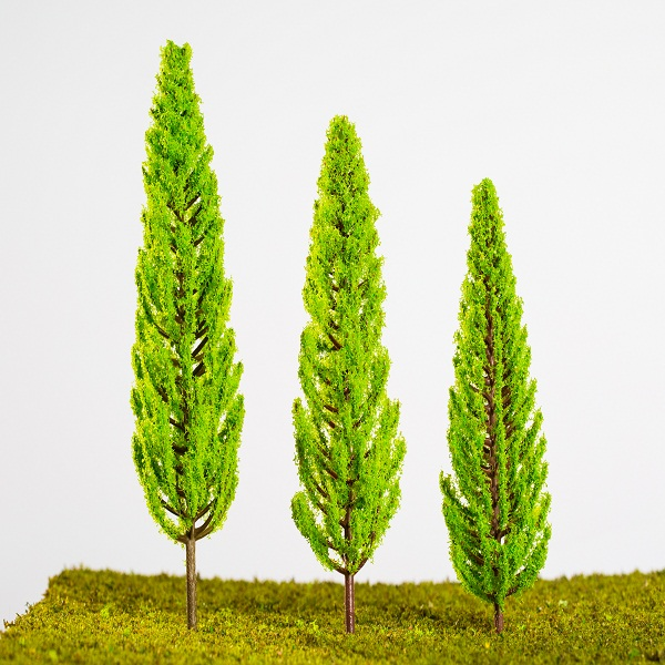 Mini scale plastic model tree for architectural model/train layout(P-007)