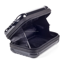 Portable Black Shockproof large tooling case Eva headphone case