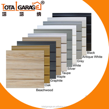 Plastic wall panel wall storage system garage grey white black slatwall panels