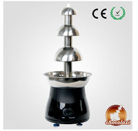 CHOCOLAZI ANT-8050 Auger 3 tiers stainless steel Home fountain chocolate