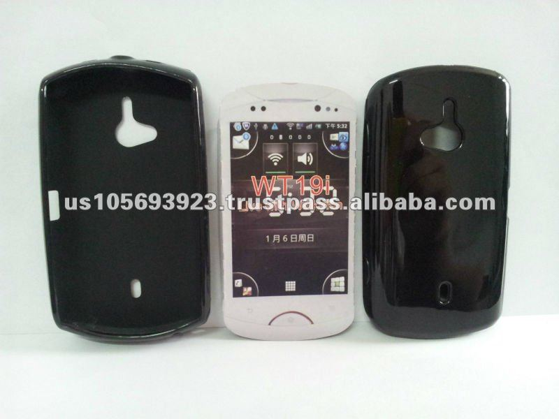 TPU Jelly case for Sony Ericsson WT19I