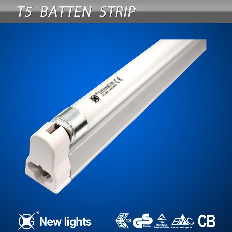 TUV Ballast T5 Fluorescent Strip Light 18W T5 Batten Fitting
