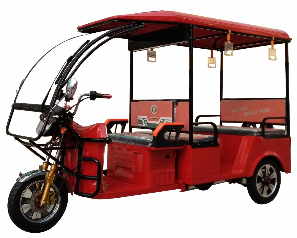 2017 newest design battery powered auto electric rickshaw for India market