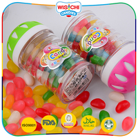 Cheap price multi colored soft jelly bean confections
