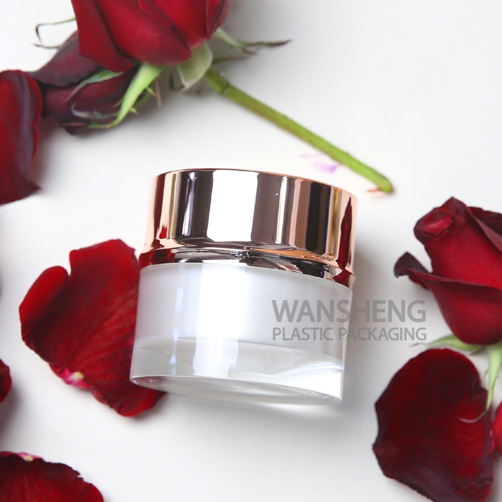 Acrylic Jar Face Care Cosmetics Beauty Fancy Acrylic Container