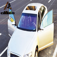 Hot selling car window color change hot foil