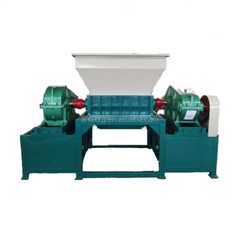 solid waste recycling tyre shredder machine farming shredder machine