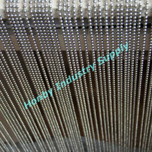 Shiny 6mm Silver Ball Chain String Curtain Blinds