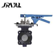 Butterfly valve standard handle replacement assembly