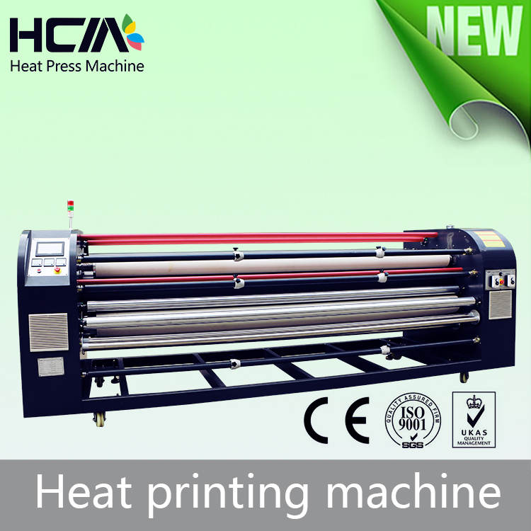Large format roll To roll multifunction roller textile sublimation T shirt heat transfer printing rotary fabric press