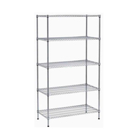 NSF & ISO Approved Chrome Plated Wire Shelving Racks