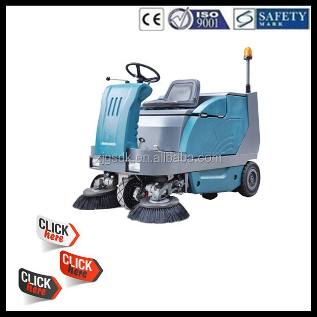 SDK1600 CE Commercial industrial electric vacuum road sweeper truck