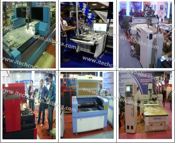 2016 new hot style three process cnc router with CE