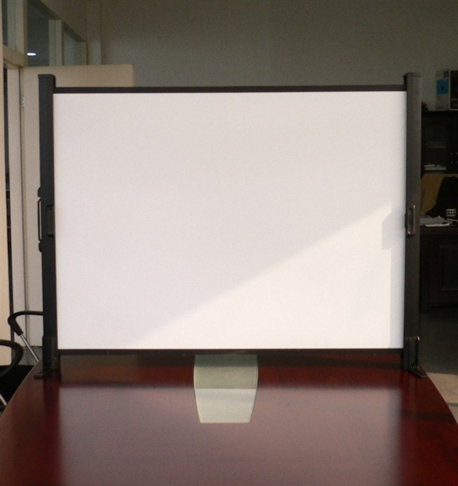 Mini Portable Projector Screen : Inch mini portable table projector screen buy